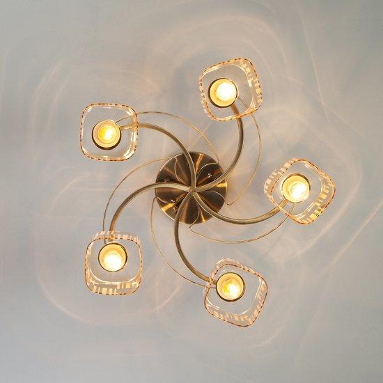 Фото №5 Потолочный светильник 30124/5 античная бронза