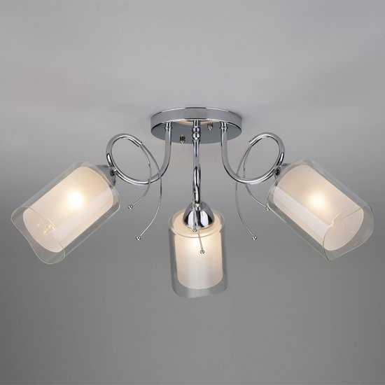 Потолочный светильник 30122/3 хром фото