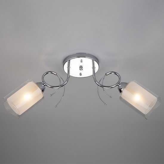 Потолочный светильник 30122/2 хром фото