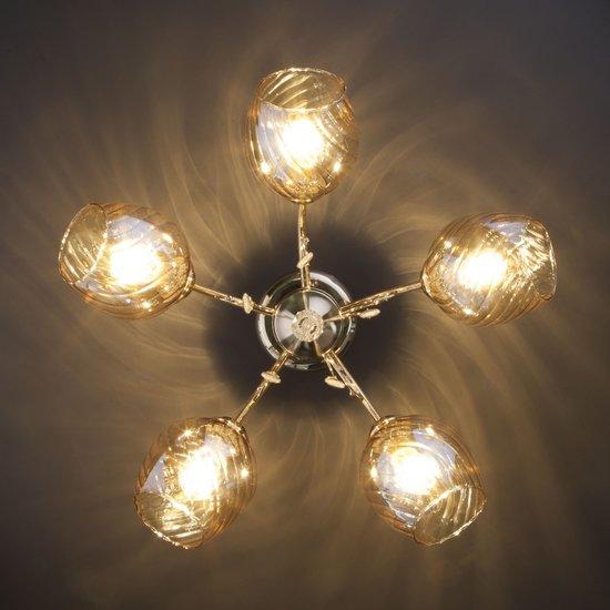 Фото №5 Потолочный светильник 30120/5 золото