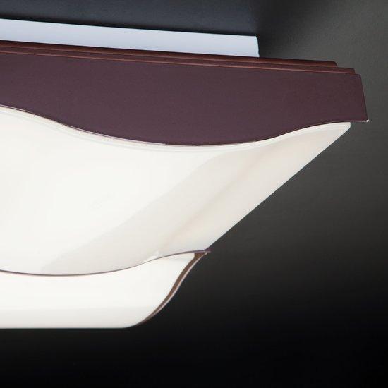 Фото №6 Светодиодный потолочный светильник 90031/4 кофе