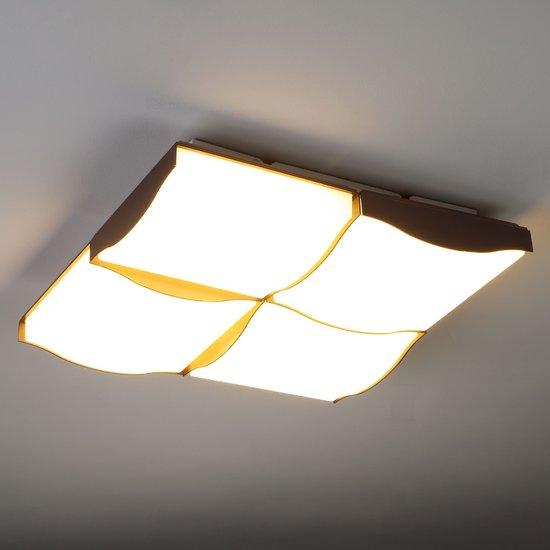 Фото №7 Светодиодный потолочный светильник 90031/4 кофе