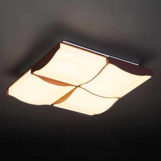 Фото №8 Светодиодный потолочный светильник 90031/4 кофе