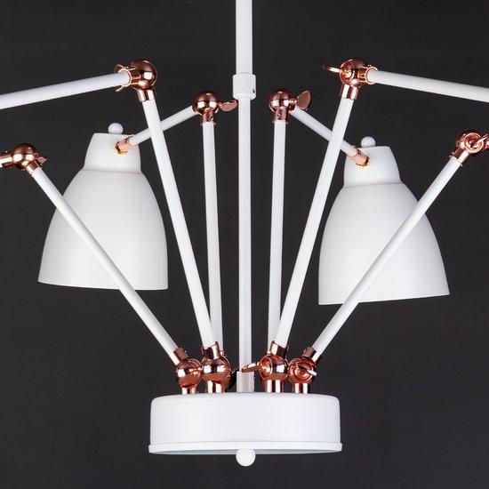 Фото №8 Светильник в стиле лофт с поворотными рожками 70084/6 белый