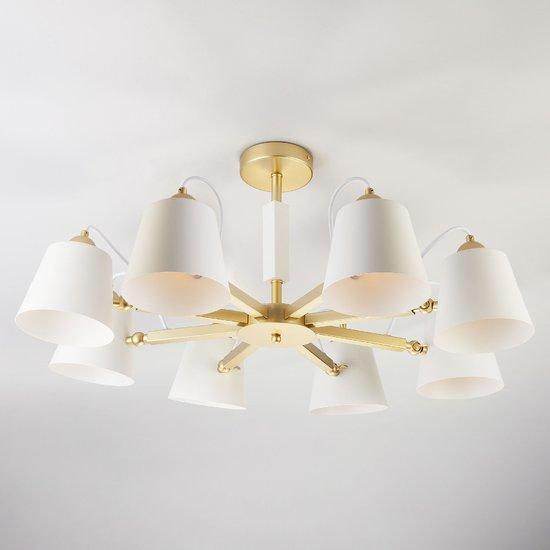 Светильник в стиле лофт с поворотными рожками 70083/8 золото фото