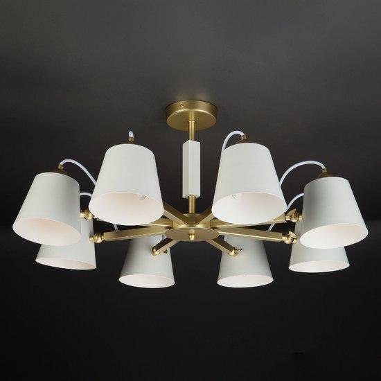 Фото №3 Светильник в стиле лофт с поворотными рожками 70083/8 золото