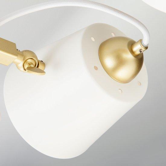 Фото №6 Светильник в стиле лофт с поворотными рожками 70083/8 золото