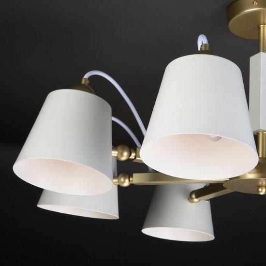 Фото №11 Светильник в стиле лофт с поворотными рожками 70083/8 золото