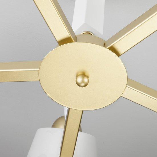 Фото №5 Светильник в стиле лофт с поворотными рожками 70083/5 золото