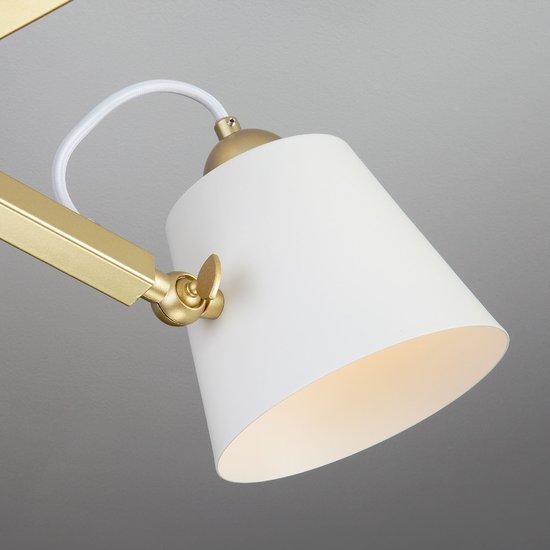 Фото №6 Светильник в стиле лофт с поворотными рожками 70083/5 золото