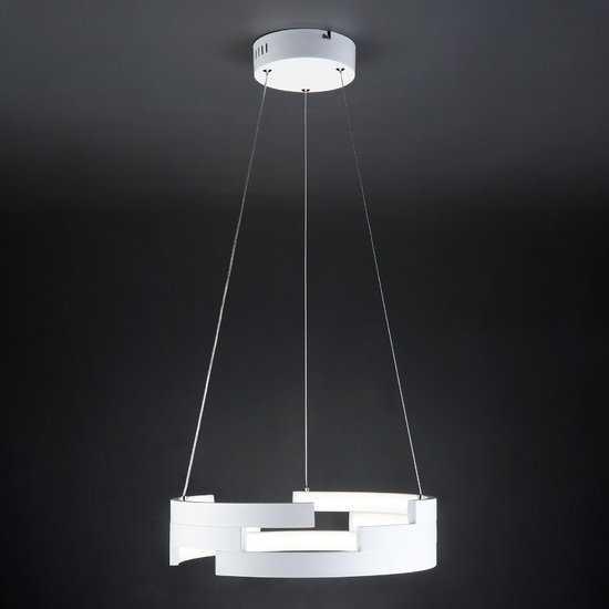 Светодиодный подвесной светильник 90094/1 белый фото