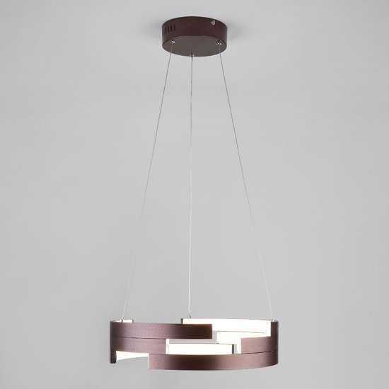 Светодиодный подвесной светильник 90094/1 коричневый фото