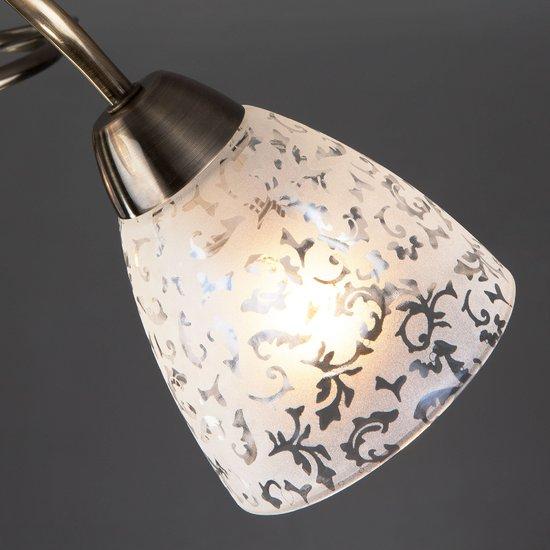 Фото №5 Потолочный светильник 30130/3 античная бронза