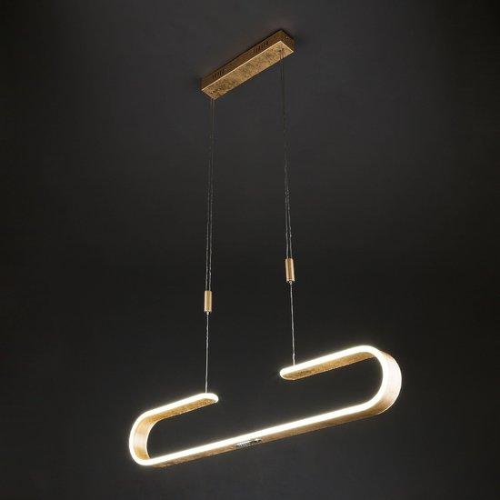 Фото №3 Светодиодный подвесной светильник 90072/1 золотой