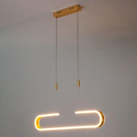 Фото №5 Светодиодный подвесной светильник 90072/1 золотой
