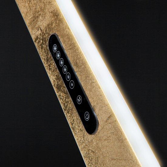 Фото №7 Светодиодный подвесной светильник 90072/1 золотой