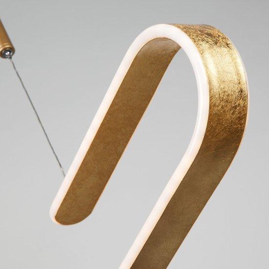 Фото №9 Светодиодный подвесной светильник 90072/1 золотой