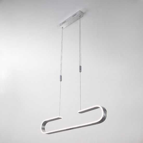 Фото №2 Светодиодный подвесной светильник 90072/1 серебряный