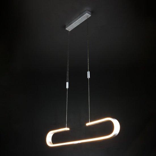 Фото №3 Светодиодный подвесной светильник 90072/1 серебряный