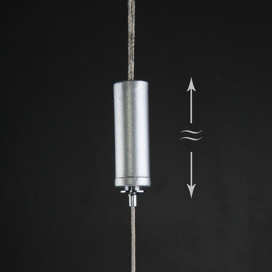 Фото №5 Светодиодный подвесной светильник 90072/1 серебряный
