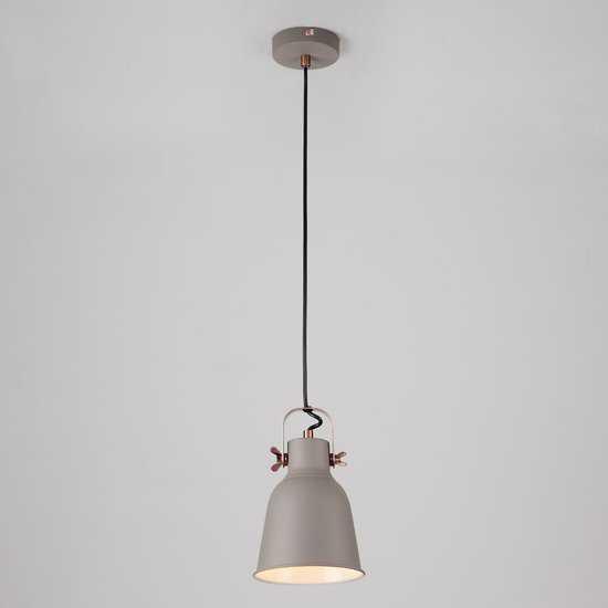 Подвесной светильник 50083/1 серый фото