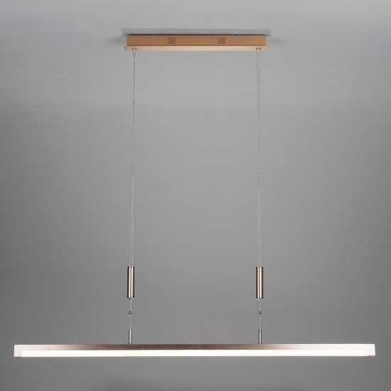 Светодиодный подвесной светильник 90030/1 золото фото
