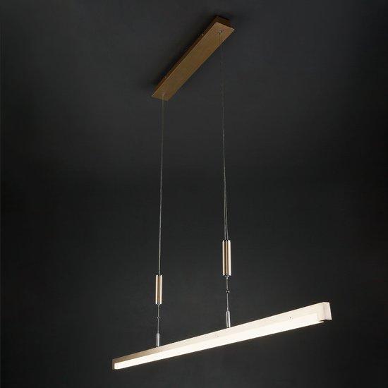 Фото №3 Светодиодный подвесной светильник 90030/1 золото