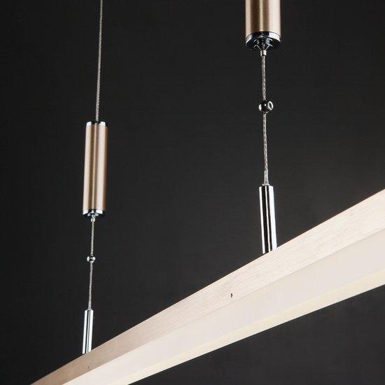 Фото №4 Светодиодный подвесной светильник 90030/1 золото