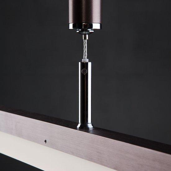 Фото №5 Светодиодный подвесной светильник 90030/1 коричневый