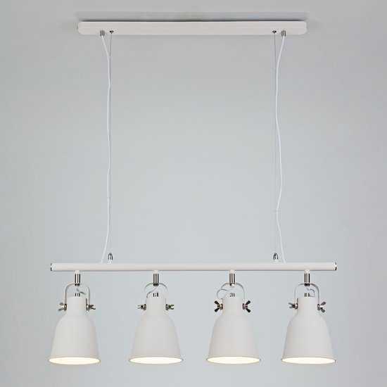 Подвесной светильник 50083/4 белый фото