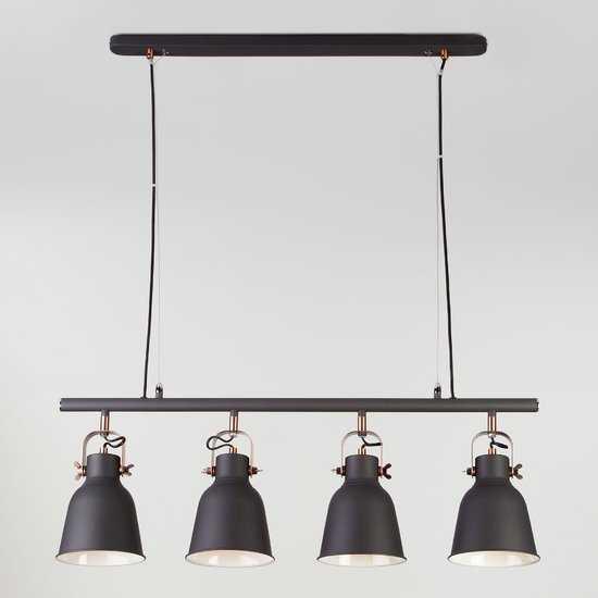Подвесной светильник 50083/4 черный фото