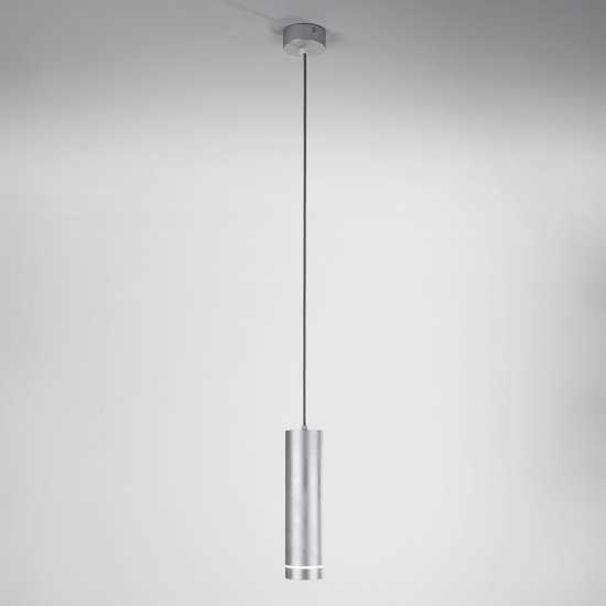 Светодиодный подвесной светильник DLR023 хром фото