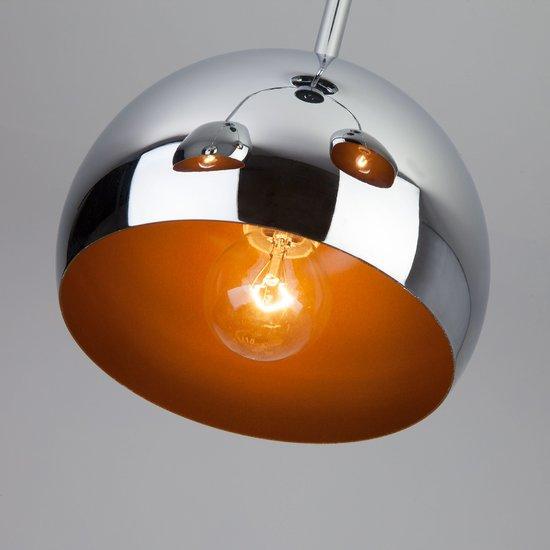 Фото №5 Подвесной светильник в стиле Лофт 70067/3 хром