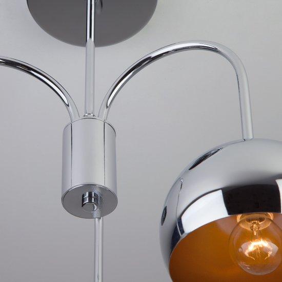 Фото №6 Подвесной светильник в стиле Лофт 70067/3 хром