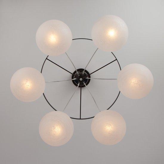 Фото №3 Подвесной светильник в стиле лофт 70069/6 хром/черный