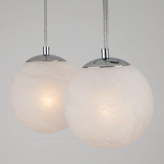 Фото №4 Подвесной светильник в стиле лофт 70069/6 хром/черный
