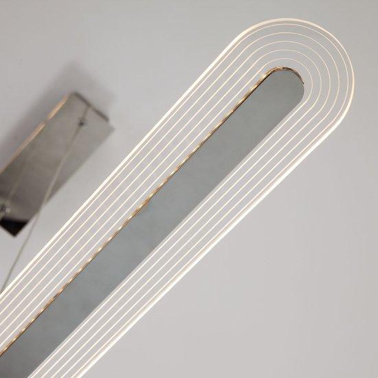 Фото №4 Светодиодный подвесной светильник 90073/2 хром