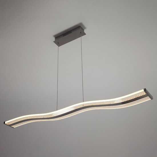 Светодиодный подвесной светильник 90071/1 хром фото