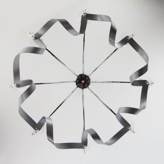 Фото №6 Подвесная люстра в классическом стиле 60064/8 хром