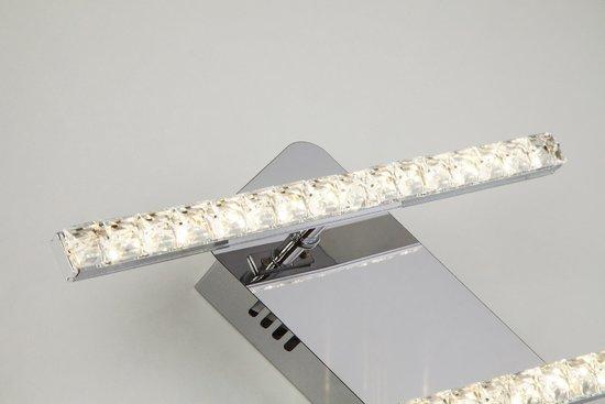 Фото №6 Светодиодный настенный светильник с хрусталем 90041/2 хром