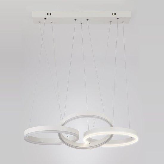 Фото №6 Светодиодный подвесной светильник 90070/3 белый