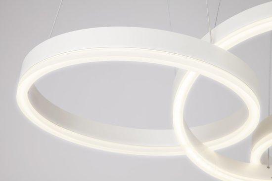 Фото №8 Светодиодный подвесной светильник 90070/3 белый