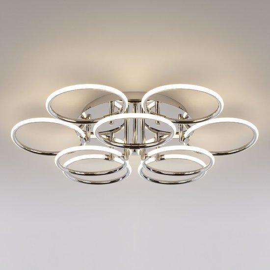 Фото №5 Светодиодный потолочный светильник 90069/9 хром