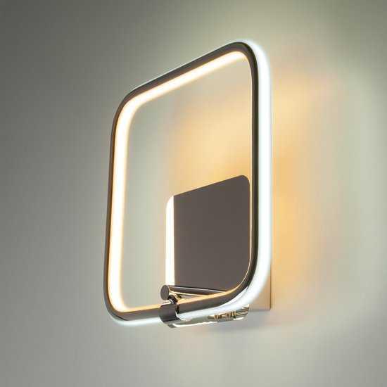 Фото №2 Светодиодный настенный светильник 90067/1 хром