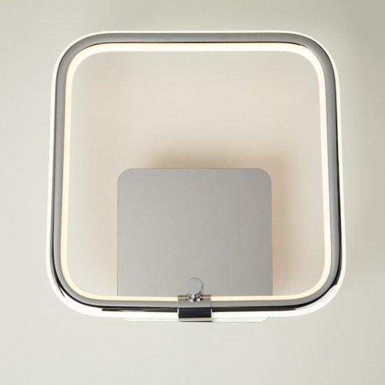 Фото №3 Светодиодный настенный светильник 90067/1 хром