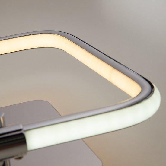 Фото №5 Светодиодный настенный светильник 90067/1 хром