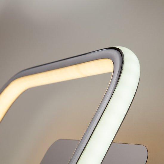 Фото №6 Светодиодный настенный светильник 90067/1 хром