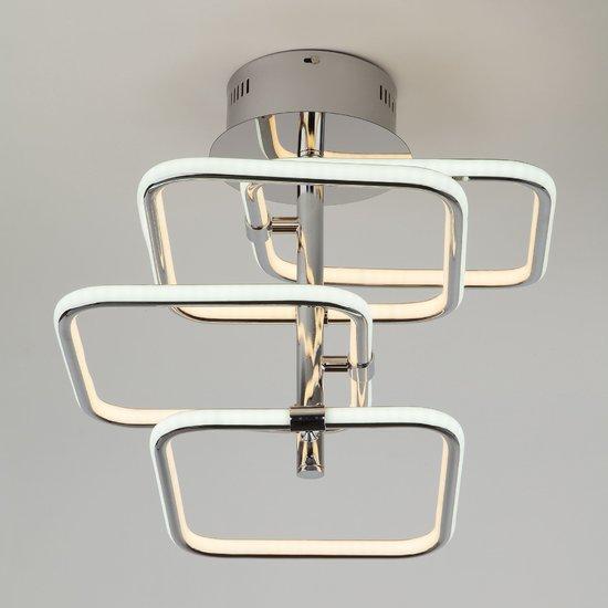Фото №3 Светодиодный потолочный светильник 90067/4 хром