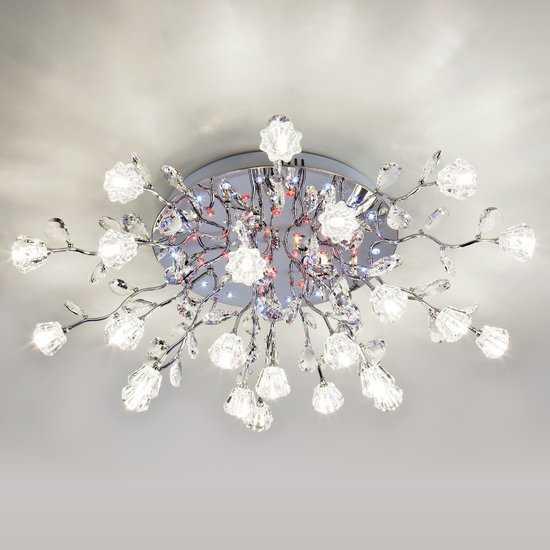 Люстра потолочная со светодиодной подсветкой 80115/23 фото