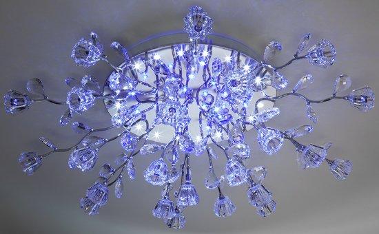 Фото №6 Люстра потолочная со светодиодной подсветкой 80115/23